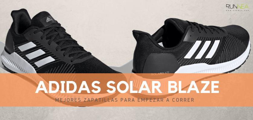 Mejores zapatillas para empezar a correr 2019 - Adidas Solar Blaze