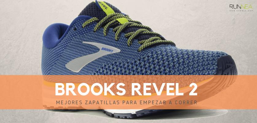 Mejores zapatillas para empezar a correr 2019 - Brooks Revel 2