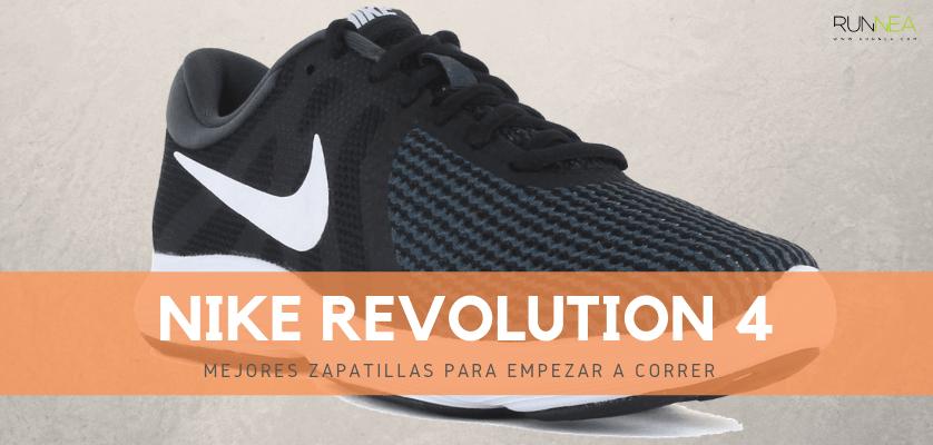 Mejores zapatillas para empezar a correr 2019 - Nike Revolution 4