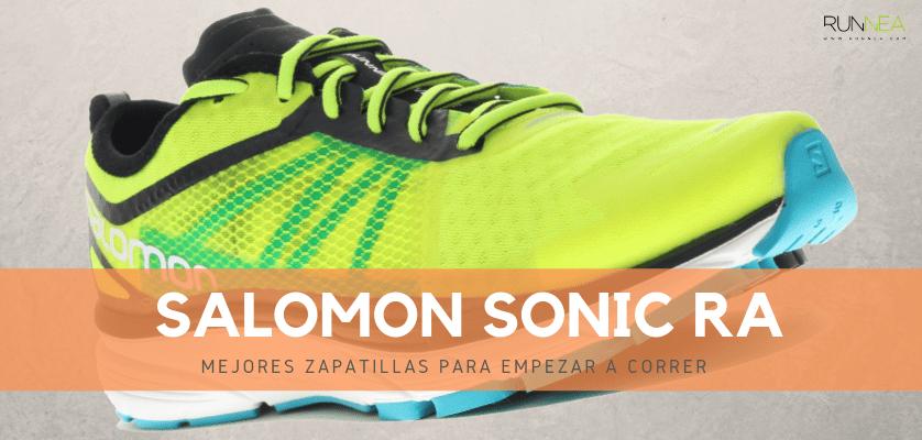 Mejores zapatillas para empezar a correr 2019 - Salomon Sonic RA