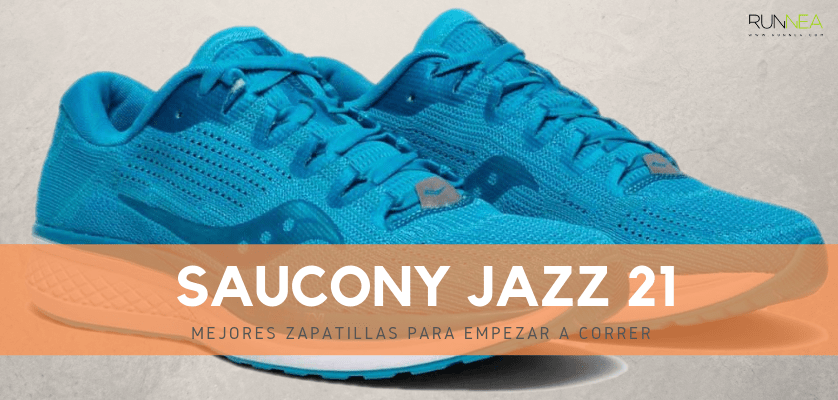 Mejores zapatillas para empezar a correr 2019 - Saucony Jazz 21
