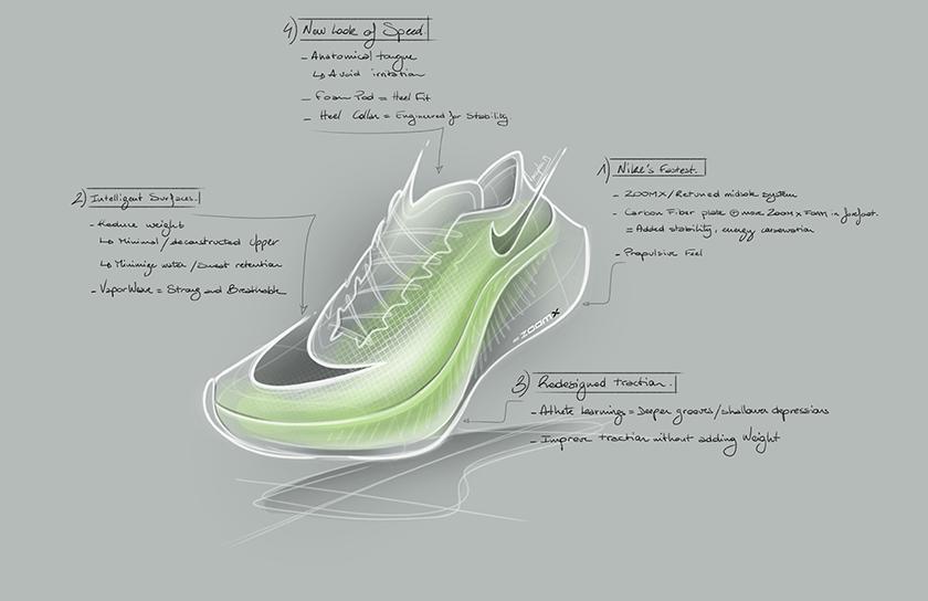 Las nuevas zapatillas de running Nike ZoomX Vaporfly Next%, rediseño de la tracción - foto 3