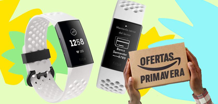 Ofertas de Primavera en Amazon - Fitbit Charge 3
