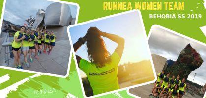 Las afortunadas del Runnea Women Team, #RoadToBehobiaSS 2019