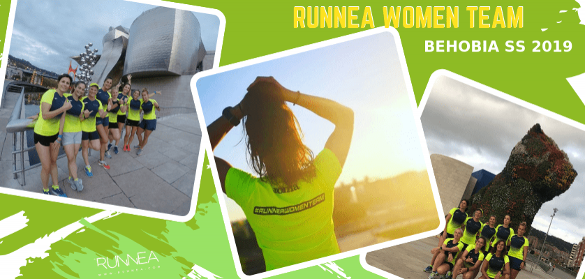 Las afortunadas del Runnea Women Team, #RoadToBehobiaSS 2019