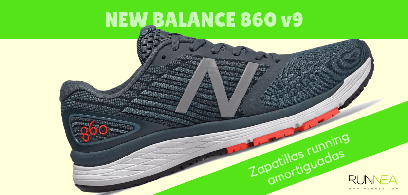 Zapatillas amortiguadas de New Balance para correr con seguridad - New Balance 860 v9