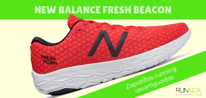 Zapatillas amortiguadas de New Balance para correr con seguridad - New Balance Fresh Foam Beacon