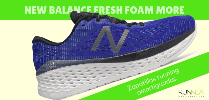 Zapatillas amortiguadas de New Balance para correr con seguridad - New Balance Fresh Foam More