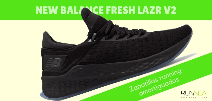 Zapatillas amortiguadas de New Balance para correr con seguridad - New Balance Fresh Foam Lazr v2