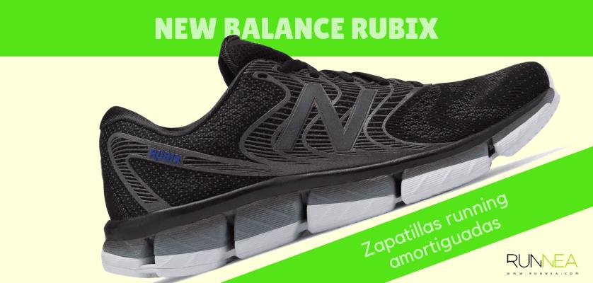 Zapatillas amortiguadas de New Balance para correr con seguridad - New Balance Rubix