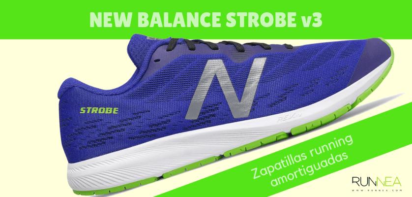 Zapatillas amortiguadas de New Balance para correr con seguridad - New Balance Strobe v3