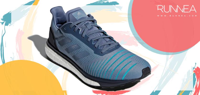 Mejores zapatillas para empezar a correr con sobrepeso 2019 - Adidas Solar Drive