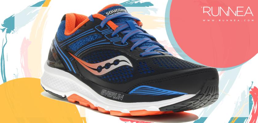 Mejores zapatillas para empezar a correr con sobrepeso 2019 - Saucony Echelon 7