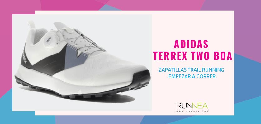 Las 10 zapatillas trail running para empezar a correr - Adidas Terrex Two BOA