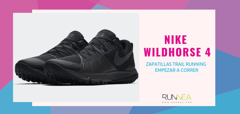 Las 10 zapatillas trail running para empezar a correr - Nike Wildhorse 4