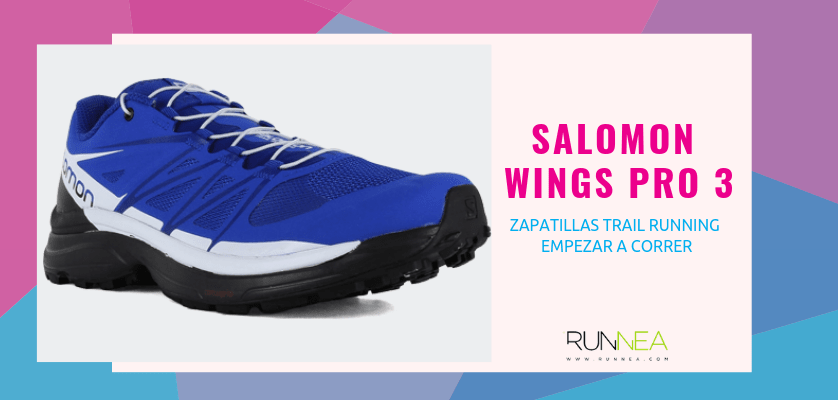 Las 10 zapatillas trail running para empezar a correr - Salomon Wings Pro 3