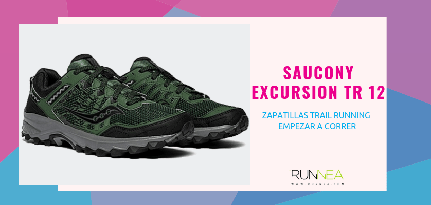 Las 10 zapatillas trail running para empezar a correr - Saucony Excursion TR 12