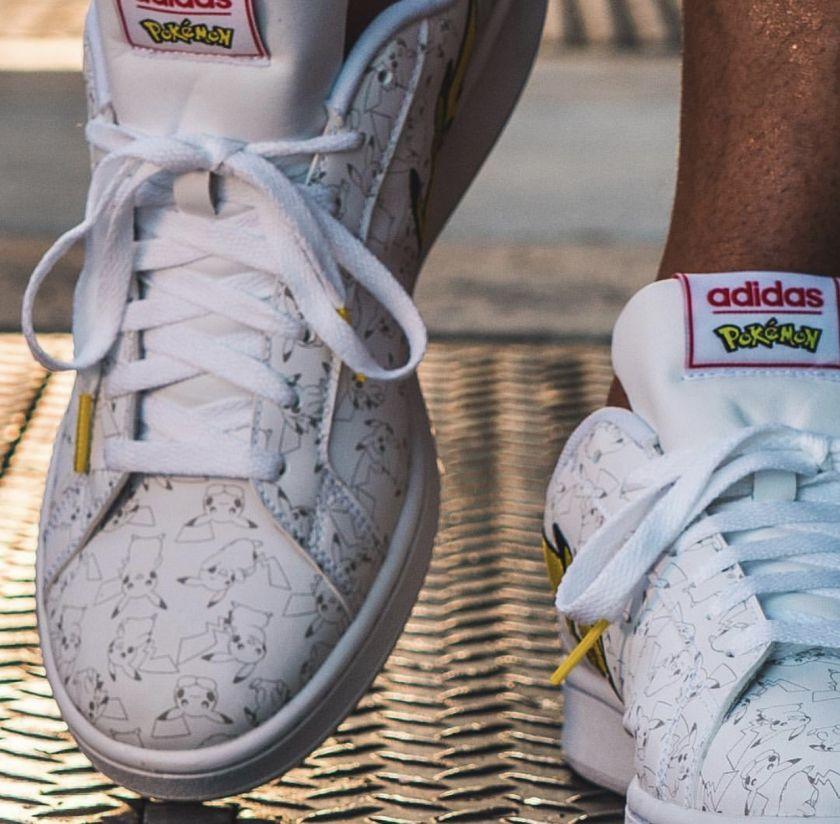 Zapatillas de la colección Adidas X Pokémon Detalles
