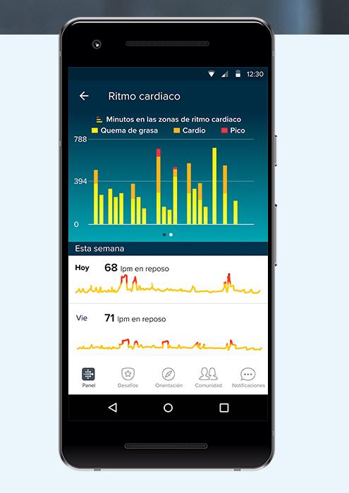 Fitbit Inspire HR conexión móvil