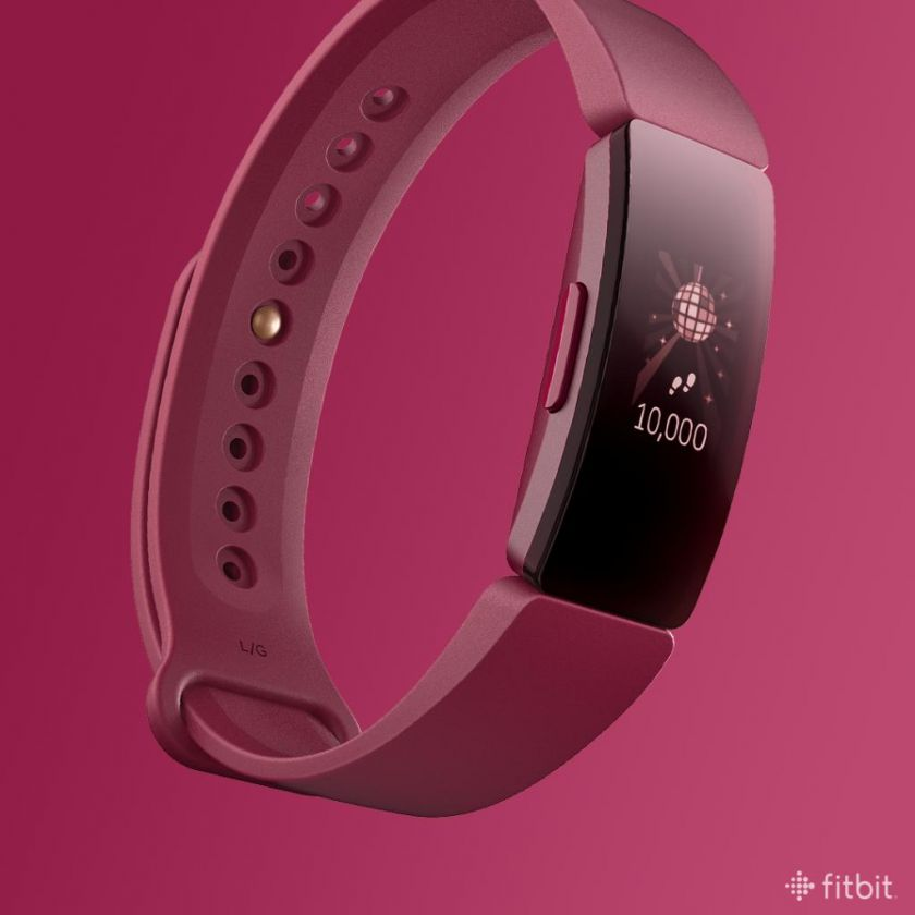 Fitbit Inspire HR colores