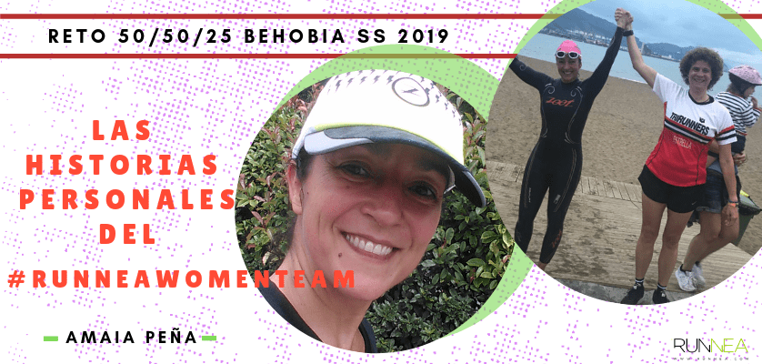 Historias runners de las 50 corredoras del Runnea Women Team - Amaia Peña