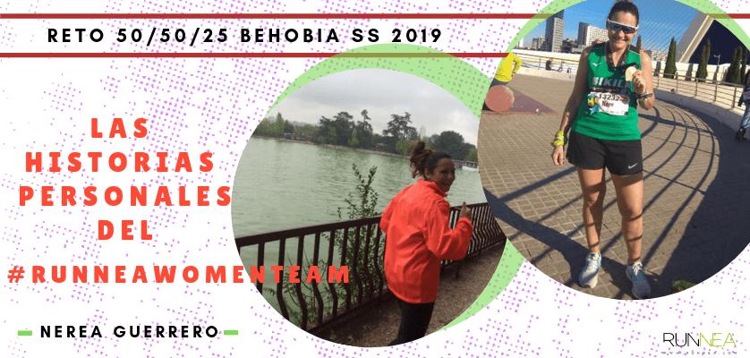 Historias runners de las 50 corredoras del Runnea Women Team - Nerea Guerrero Garrido