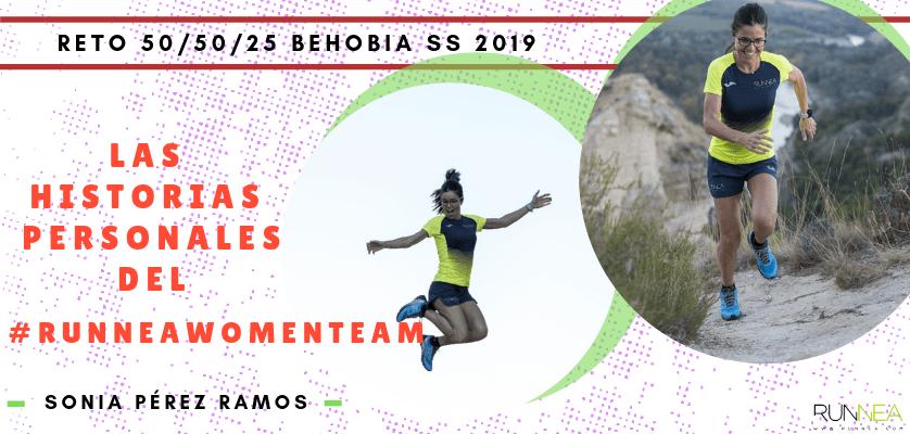 Historias runners de las 50 corredoras del Runnea Women Team - Sonia Pérez Ramos