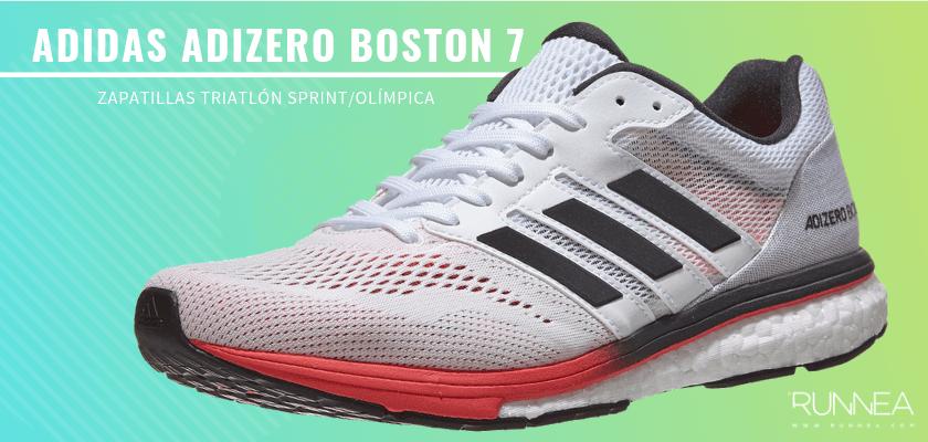 Mejores zapatillas de triatlón 2019 - Adidas Adizero Boston 7