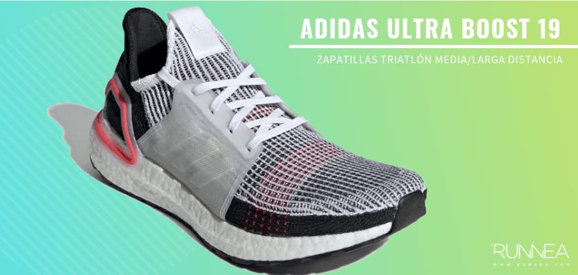 Mejores zapatillas de triatlón 2019 - Adidas Ultra Boost 19