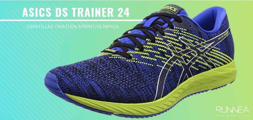 Mejores zapatillas de triatlón 2019 - ASICS DS Trainer 24