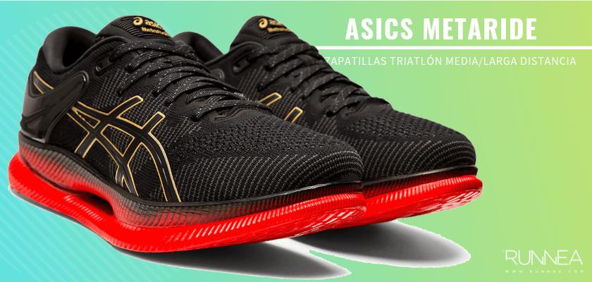 Mejores zapatillas de triatlón 2019 - ASICS Metaride