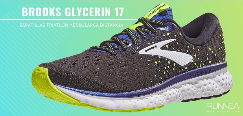 Mejores zapatillas de triatlón 2019 - Brooks Glycerin 17