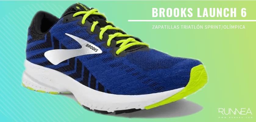 Mejores zapatillas de triatlón 2019 - Brooks Launch 6