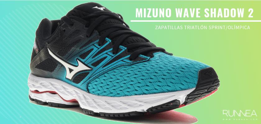 Mejores zapatillas de triatlón 2019 - Mizuno Wave Shadow 2