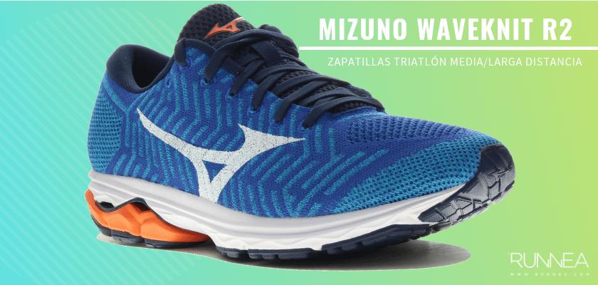 Mejores zapatillas de triatlón 2019 - Mizuno WaveKnit R2