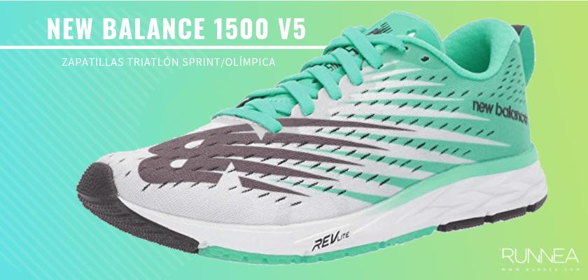 Mejores zapatillas de triatlón 2019 - New Balance 1500 v5