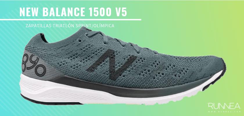 Mejores zapatillas de triatlón 2019 - New Balance 890 v7