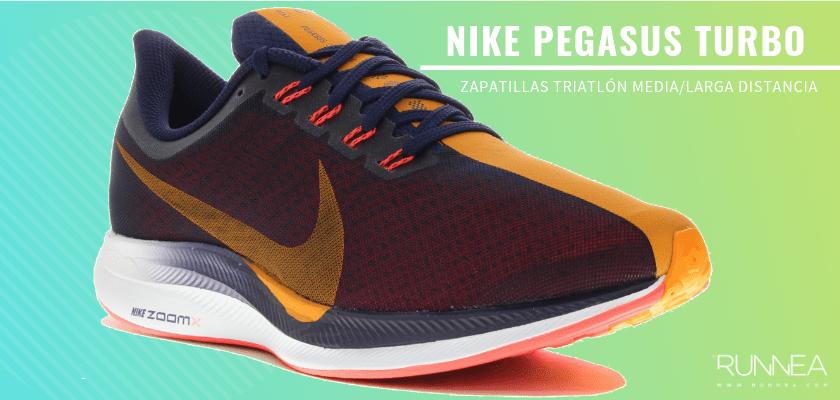 Mejores zapatillas de triatlón 2019 - Nike Zoon Pegasus Turbo