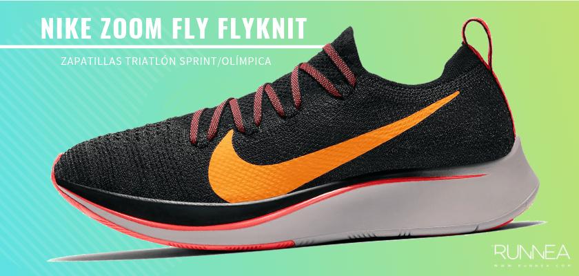 Mejores zapatillas de triatlón 2019 - Nike Zoom Fly Flyknit
