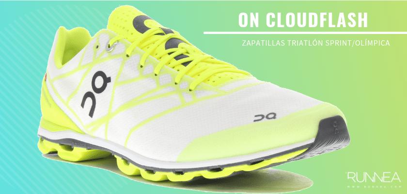 Mejores zapatillas de triatlón 2019 - On Cloudflash