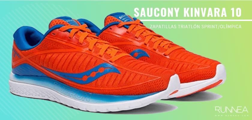 Mejores zapatillas de triatlón 2019 - Saucony Kinvara 10
