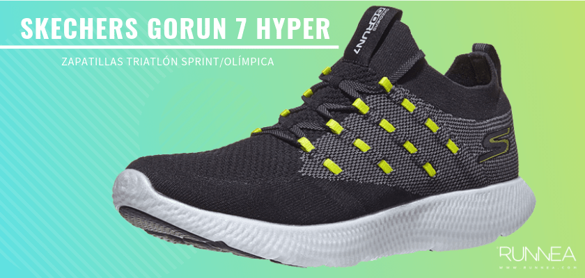 Mejores zapatillas de triatlón 2019 - Skechers GOrun 7 Hyper