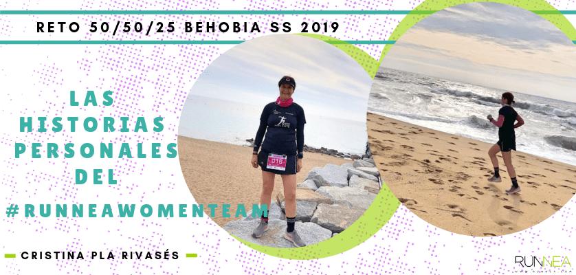 Historias runners de las 50 corredoras del Runnea Women Team - Cristina Pla Rivasés (Barcelona)