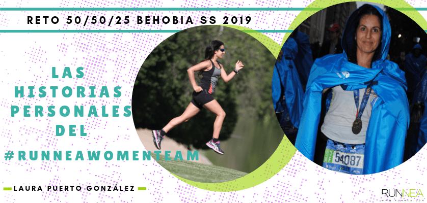 Historias runners de las 50 corredoras del Runnea Women Team - Laura Puerto González (Madrid)