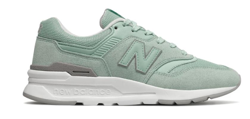 Sneakers color menta, New Balance 997H