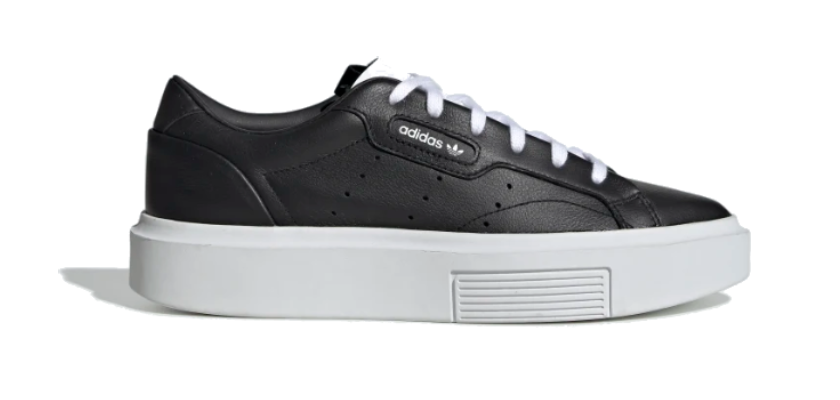 Adidas Sleek Super, negro