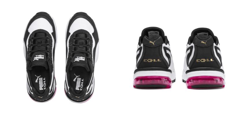 Sneakers Puma Cell Stellar sigue manteniendo su sello para así diferenciarse de las otras líneas de la marca