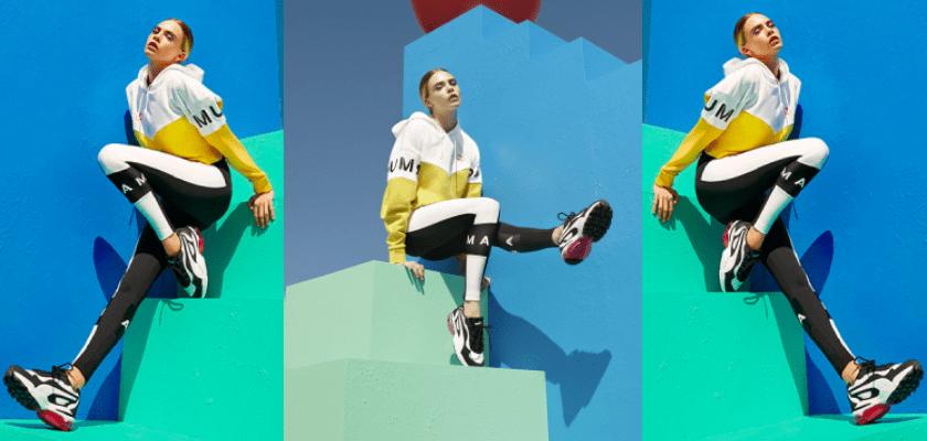 Sneakers Puma Cell Stellar cuenta como imagen principal de la línea a la modelo Cara Delevingne