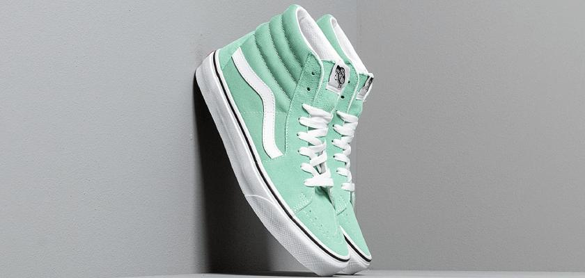 Sneakers color menta, Vans Sk8-Hi