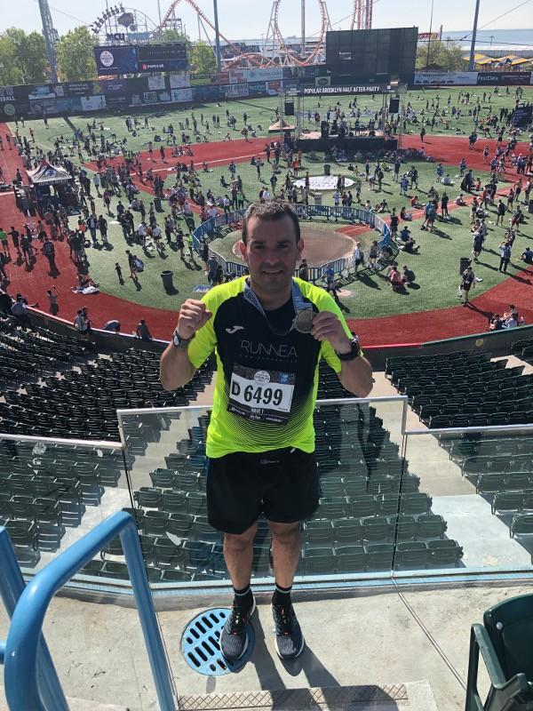 medio maraton brooklyn